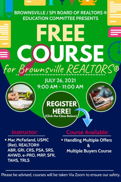 FREE  Handling Multiple Offers and Multiple Buyers Course