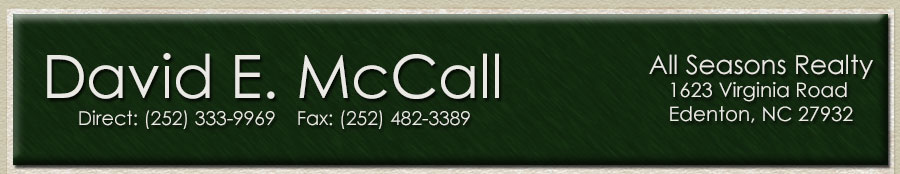 David E. McCall - All Seasons Realty