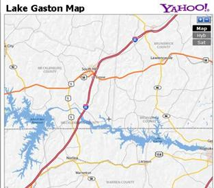 Lake Gaston Real Estate Map - Find Lake Gaston Property for sale