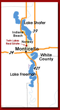 Homes for Sale in Monticello IN