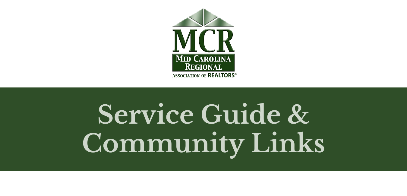 mcrar service guide and community links