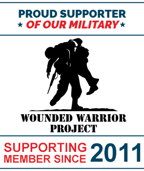Wounded Warrior Project Supporter Since 2011