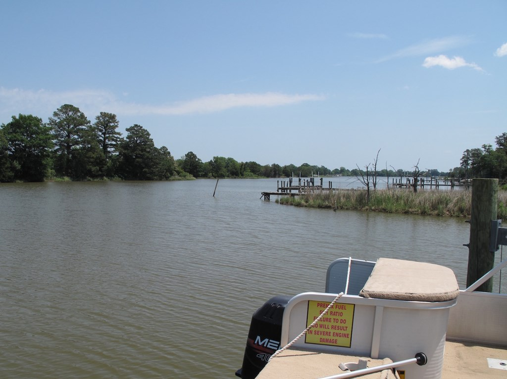 View out creek to Rappahannock