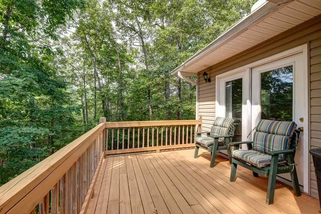 Back Deck off of Bedroom