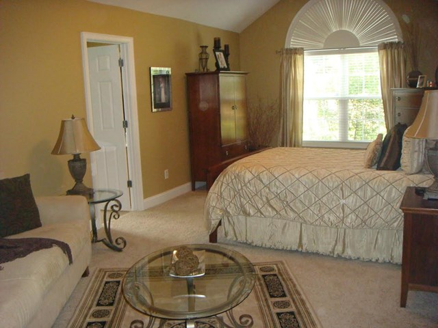 Very large private master suite