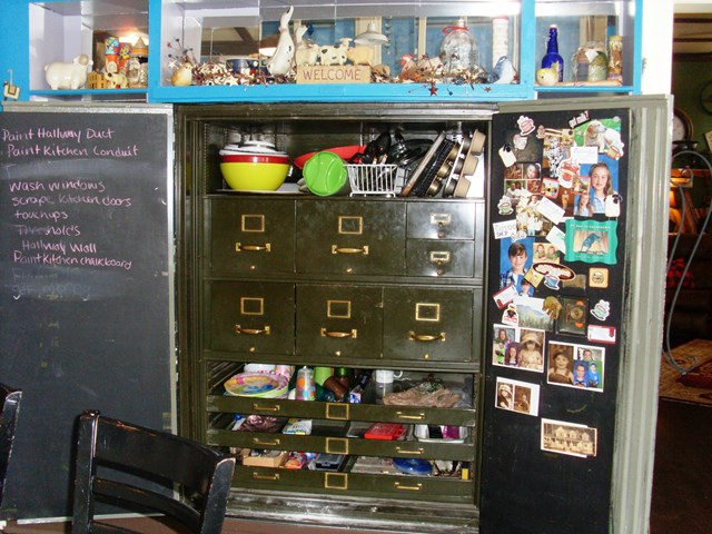 1905 Safe-converted into pantry in kitchen