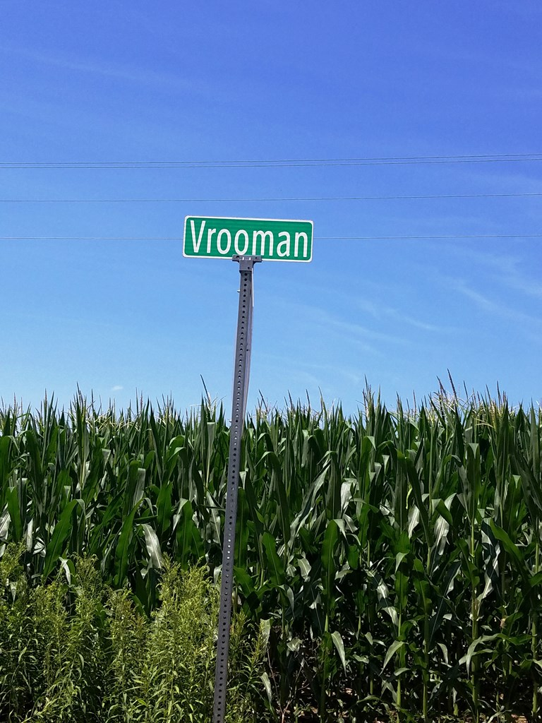 Correct spelling of road is 'VROOMAN'