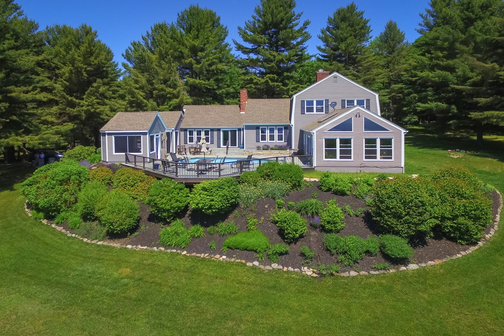 Perched above Lake Champlain with views from almos