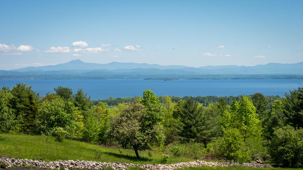Scenic views of the Green Mountains of Vermont, th