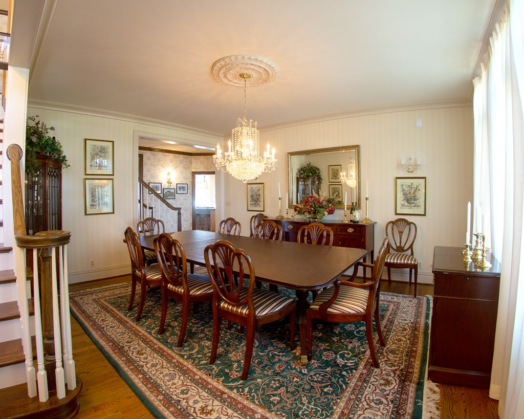 Formal Dining Room off Entry Foyer