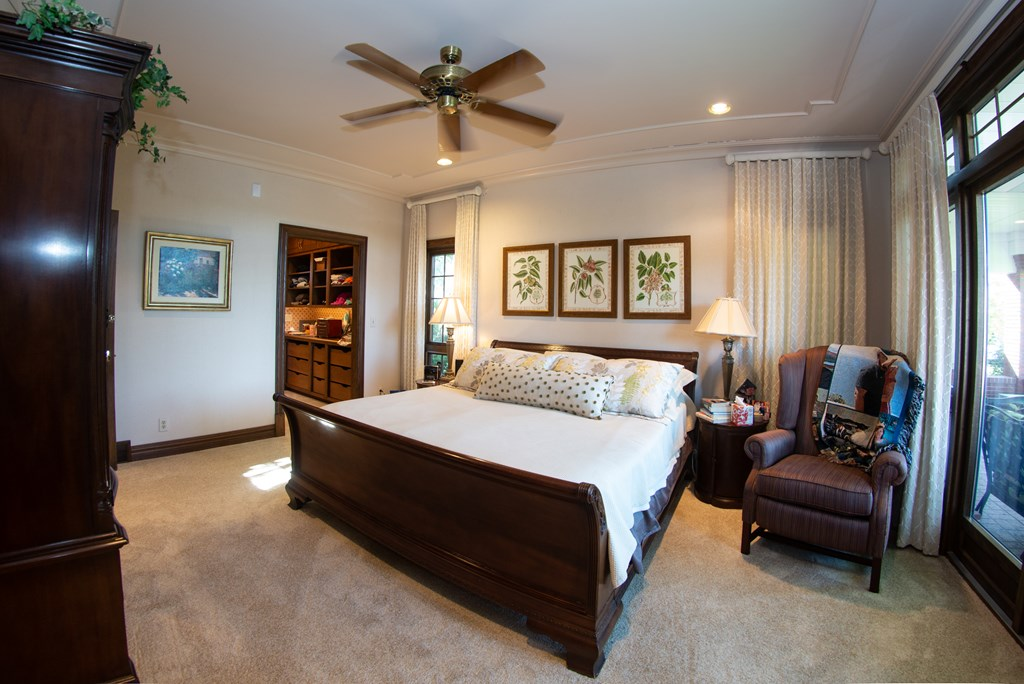 Main Floor Master Bedroom Retreat