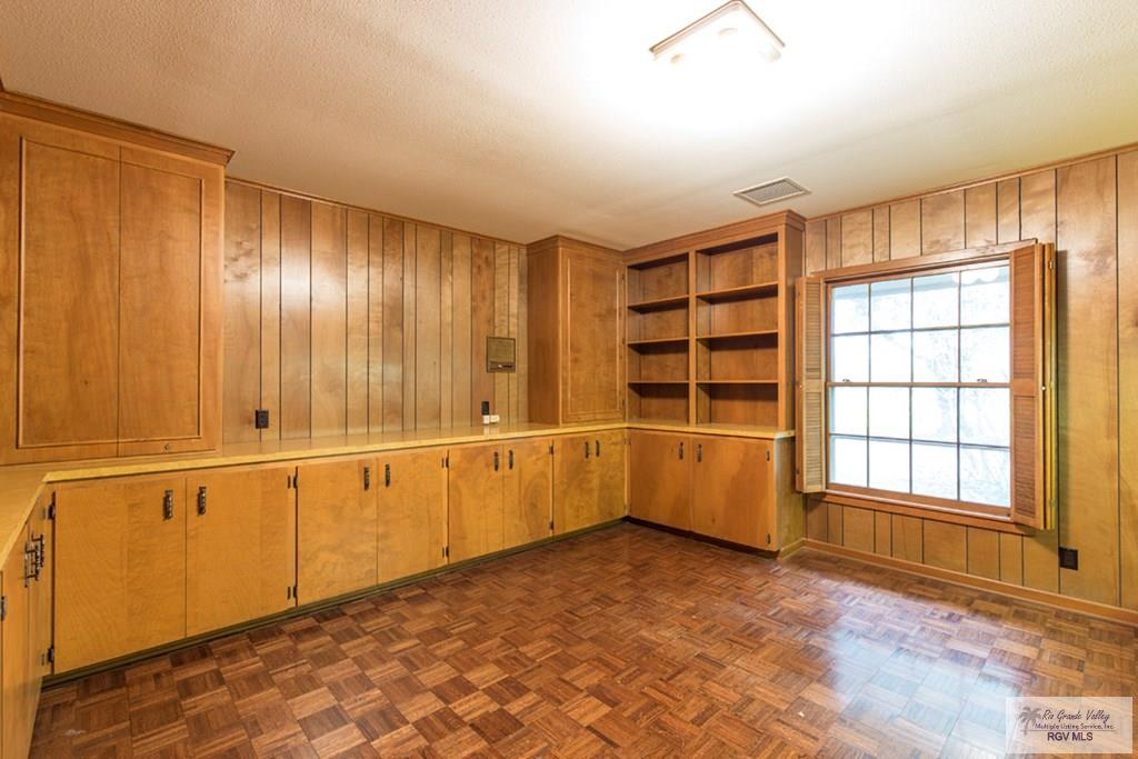 Office with gun closet