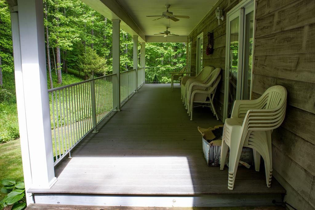 Side Covered deck