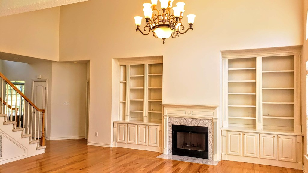 Built-in surround cabinetry