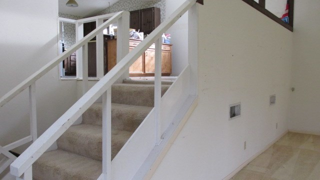 1st to 2nd floor stairs