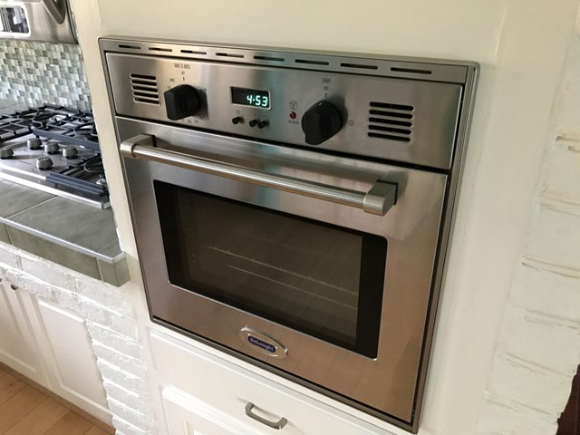 GAS WALL OVEN